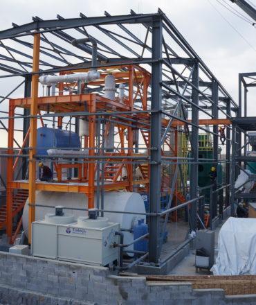 fuel large scale plant